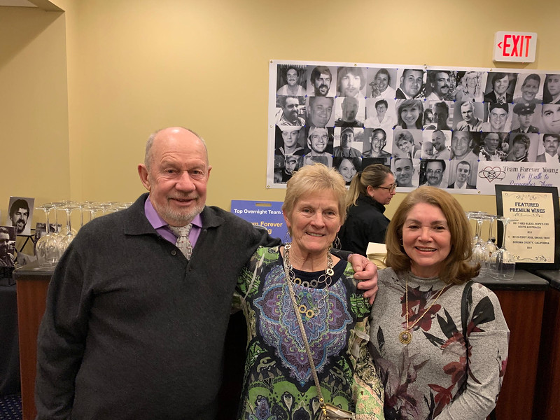 From left, Walter Murphy and Maureen Semekis of Westford, and Felly Goulet of Hudson