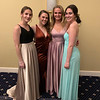 From left, Brittany Watson, Michaela Smyth, Cara Hirst and Taylor Czybora, all of Chelmsford