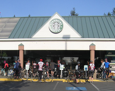 Group meets at Bridle Trails Starbucks at 7am