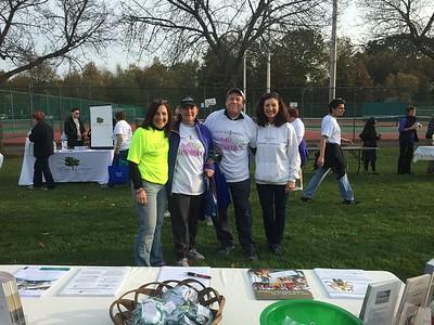 Team Jewish Home at the Alzheimer's Walk