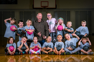Casting Call: The Oxford Hills Kindergarten basketball team try out for the silly team.