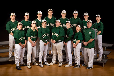 Freshman Baseball Front Row (L to R): Justin Head, Matt Doucette, Brett Andrews, Orion Tripp, Casey Southworth, Holden Rodzen and Coach Doucette Back Row (L to R): Jordan Smith, Cole Leonard, Dakota Grassi, John Hatcher, Wyatt Knightly, Jayden Tripp, Nick Wilson and Liam Dailey