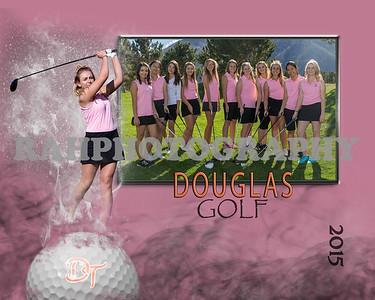 Golf collage