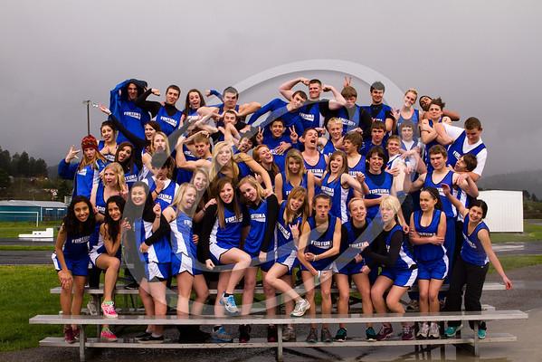 FUHS Track Team 2012