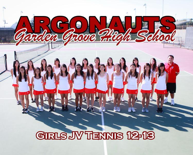 Jv Tennis Poster