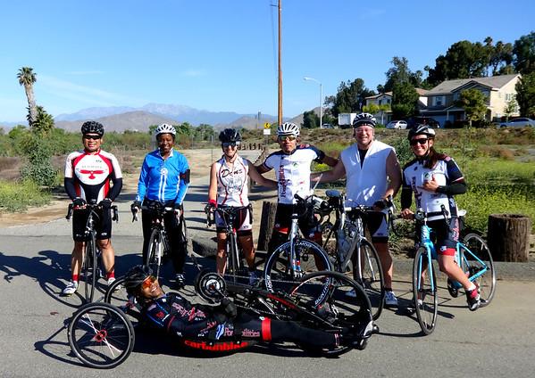 Team PossAbilities Group Ride, San Bernardino CA April 3, 2016