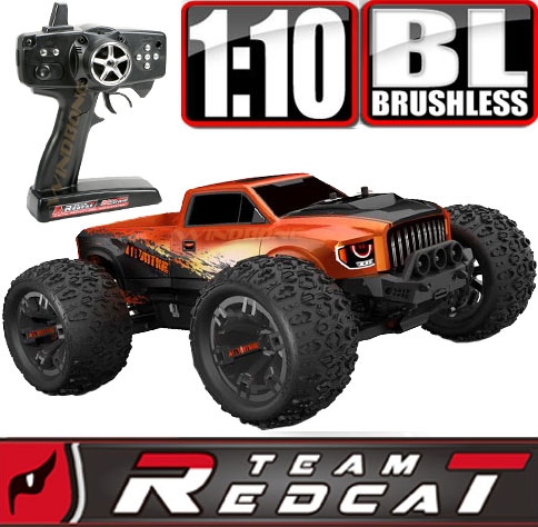 TeamRedcat TRMT10E Orange Venom Duo LiPO Battery Bundle Main Orange