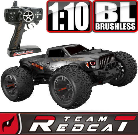 TeamRedcat TRMT10E Gun Metal Venom Duo LiPO Battery Bundle Main