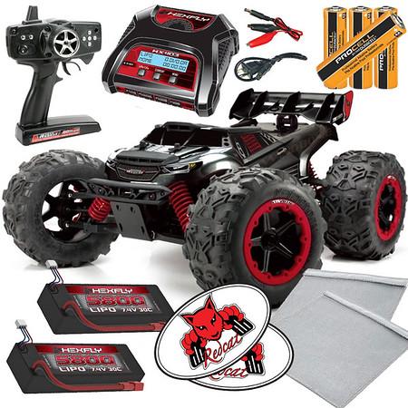 Team-Redcat-TR-MT8E Hexfly Balance x2 LiPO Pack Bundle