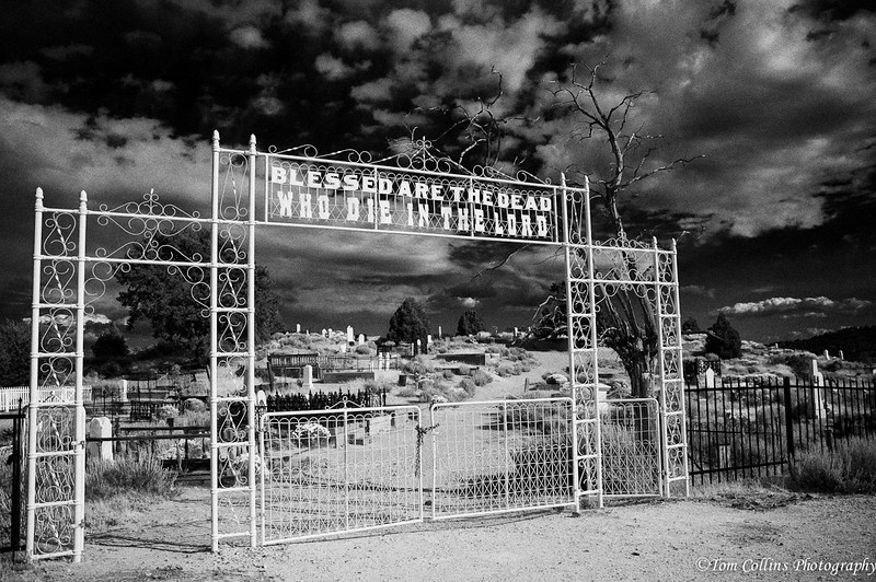 Cemetery outside of Virginia City, Nevada