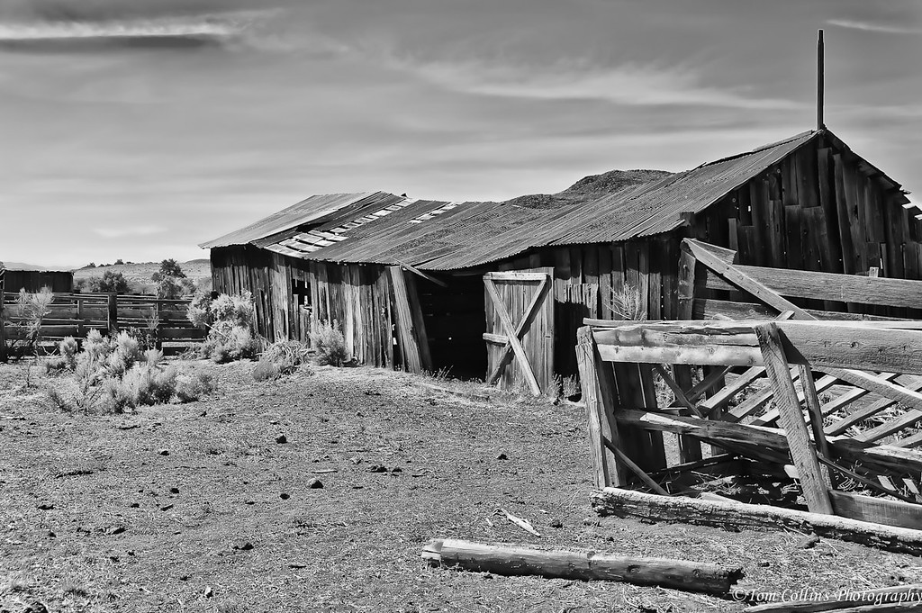 Old farm building near the Buckland Estate and also near Fort Churchill.
