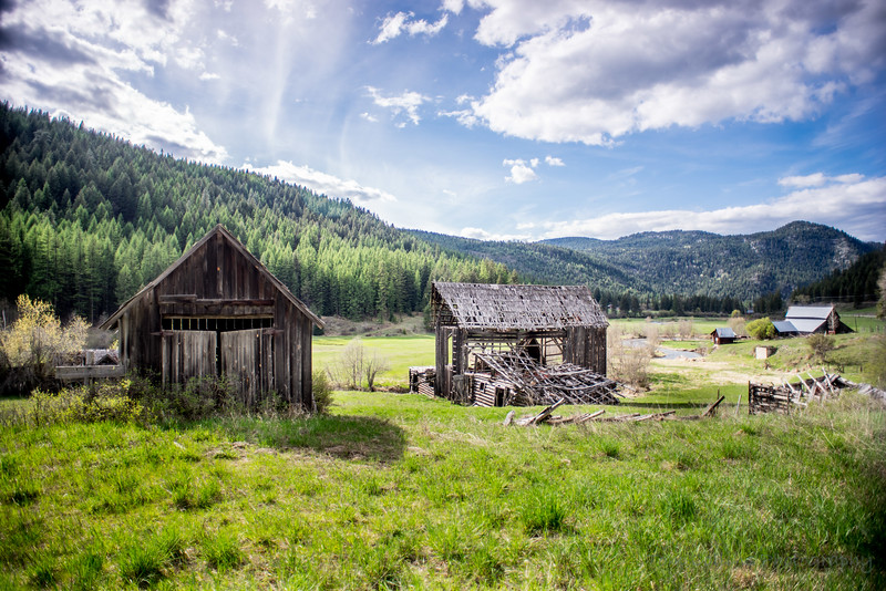 Abandoned Homestead in Stevens County, Washington