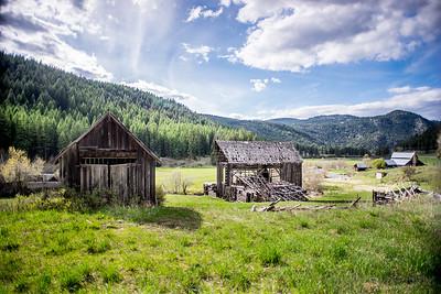 Abandoned Homestead in Stevens County, Washington