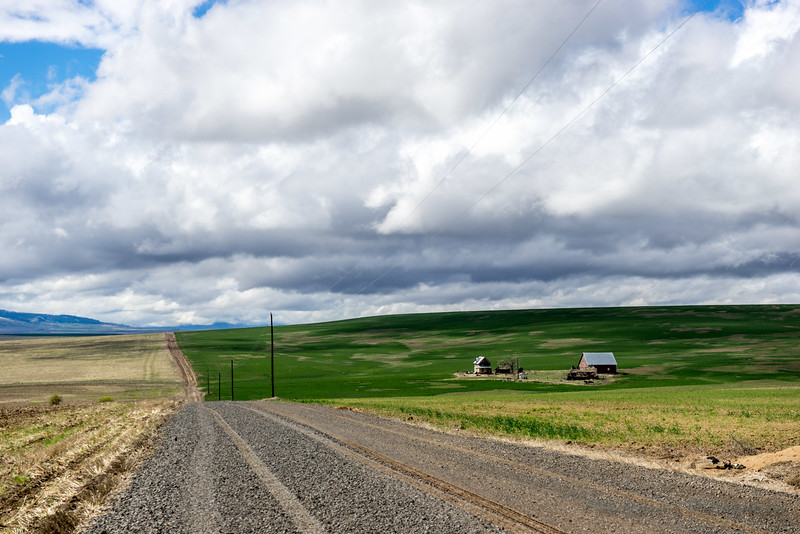 Open road, Farmer, Wa