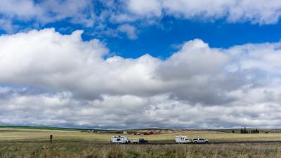 The open high plains of eastern Washington.