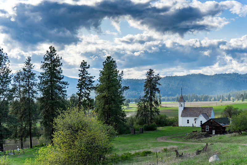 Mission Church in Stevens County, Washington