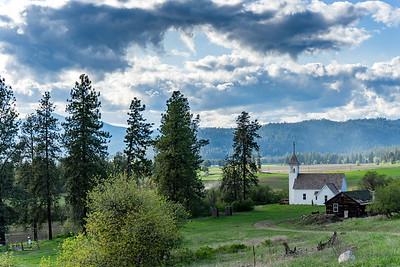 Mission Church in Stevens County, Washington