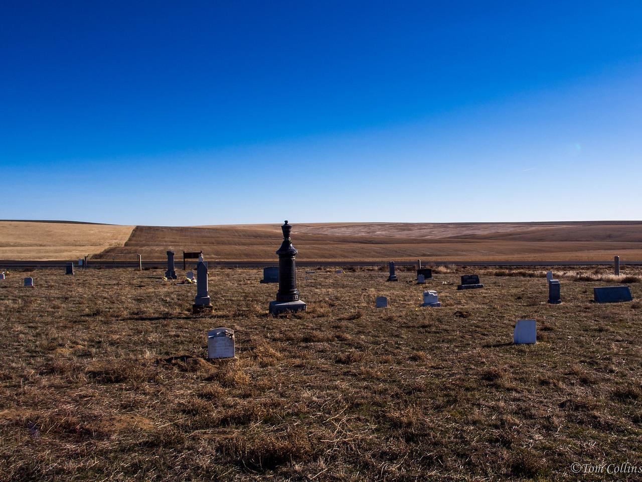 Farmer, Washington, Happy Cemetery<br />  Team Rust ~ Douglas County