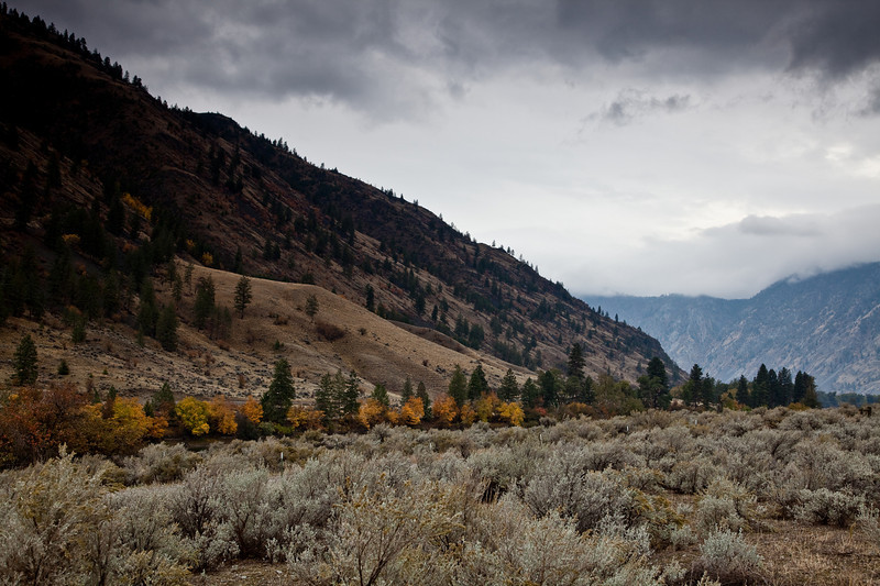 Okanogan County, WA. north of Palmer Lake in the Sinlahekin Valley