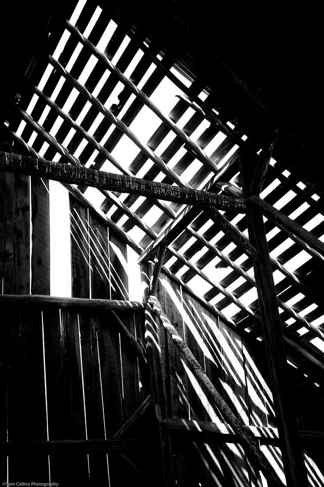 Barn roof abstract