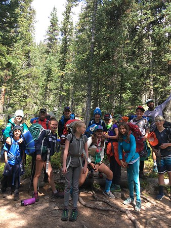 Team Savage: Middle School Outdoor Ed Fall 2017