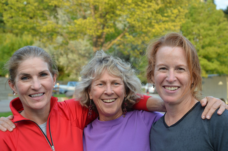Nini Anger, Ellen Postlewaite and Colleen MacKinnon