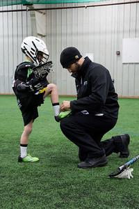 207Lacrosse K-2 practice at the RAC on 2.11.15