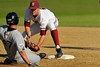 31 March 2008: Stanford Cardinal Jake Schlander during Stanford's 9-3 win against the Long Beach State 49ers at Klein Field at Sunken Diamond in Stanford, CA.