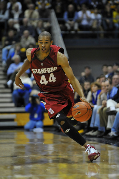 26 January 2008: Fred Washington during Stanford's 82-77 win over California at the Haas Pavilion in Berkeley, CA.