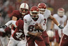 01 November 2008: Washington State wide receiver Jeshua Anderson (85) heads upfield during the Stanford Cardinal's 58-0 victory over the Cougars at Stanford Stadium in Stanford, CA.