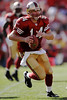 Sep. 21, 2008; San Francisco 49ers quarterback J.T. O'Sullivan (14) scrambles during the fourth quarter of the 49ers 31-13 victory over the Detroit Lions at Monster Park in San Francisco, CA. Mandatory Credit: Daniel R. Harris-US PRESSWIRE
