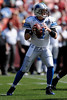 Sep. 21, 2008; San Francisco, CA, USA; Detroit Lions quarterback Jon Kitna (8) back to pass in the first quarter of the Lions game against the 49ers at Monster Park in San Francisco, CA. Mandatory Credit: Daniel R. Harris-US PRESSWIRE