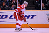 30 October 2008: Detroit Red Wings defenseman Niklas Kronwall (55) passes the puck during the second period of the Sharks 4-2 win over the Red Wings at HP Pavilion in San Jose, California.  **** Editorial Usage Only *****