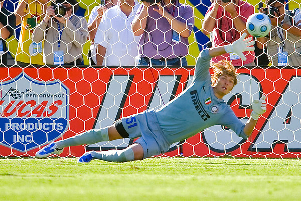 19 July 2009:  \ during play in the World Football Challenge match between Club America and Inter Milan at Stanford Stadium in Stanford, California.  Club America prevailed 1-1 on penalty kicks.