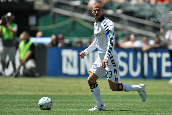 03 August 2008:  David Beckham (23) during the San Jose Earthquakes' 3-2 win over the Los Angeles Galaxy at McAfee Coliseum in Oakland, CA.