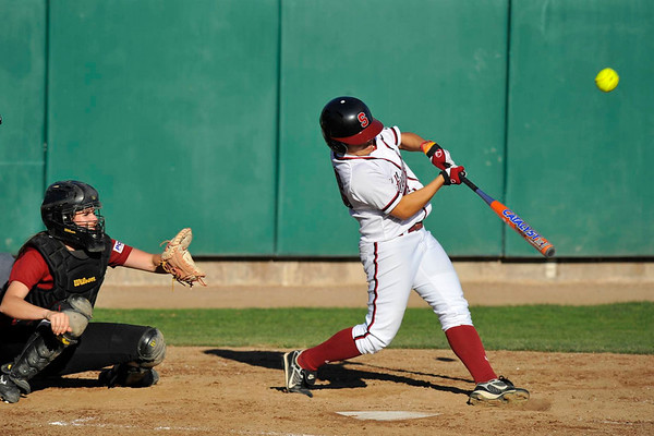 22 January 2008: **  during Stanford's 12-2 win over the Santa Clara Broncos at the Boyd and Jill Smith Family Stadium in Stanford, CA.