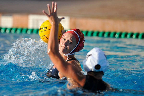 10 May 2008:  Stanford Cardinal \ during the semi-final match of the 2008 NCAA women's water polo championships at the Avery Aquatic Center in Stanford, CA.  USC defeated Stanford 10-6, to move on to the championship match against UCLA.10 May 2008:  Stanford Cardinal Kim Krueger (7) during the semi-final match of the 2008 NCAA women's water polo championships at the Avery Aquatic Center in Stanford, CA.  USC defeated Stanford 10-6, to move on to the championship match against UCLA.