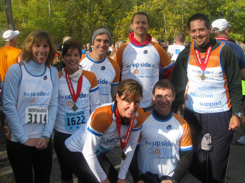 The Towpath Marathon 2009!  A beautiful day for a race where our wonderful team of 11 runners all came out to raise funds & awareness for USOD. Go Team USOD!