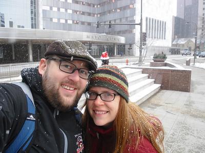 Dec. '10- Jan. '11: Mayo Clinic - Rochester, MN