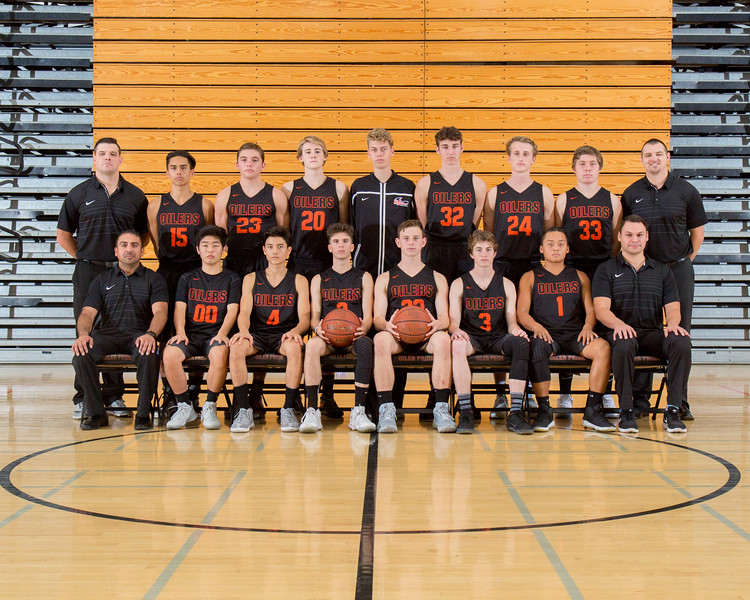 Boys Basketball Team 2017-18