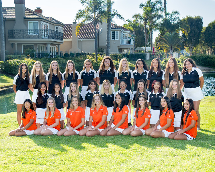 Girls Golf Team 2017-18
