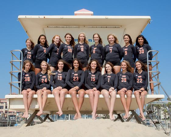 Girls Volleyball Team Photos 2017-18