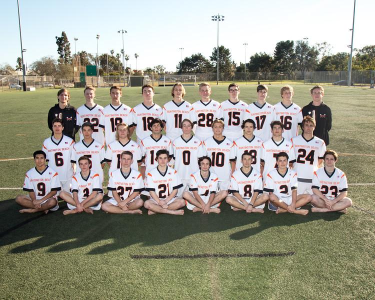 Lacrosse Team 2017-18