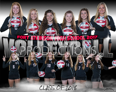 Fort Girls Volleyball 8x10