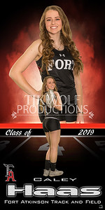 3X6 Caley Hass Track Banner