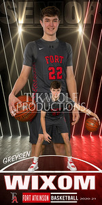 Wixom Fort Basketball Banner