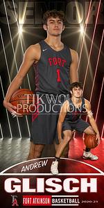 Andrew Glisch Fort Basketball Banner