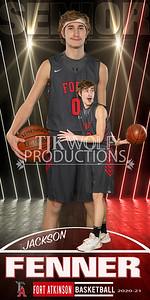 FENNER Fort Basketball Banner