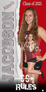 3X6 Alexis Jacobson Fort Cross Country Banner