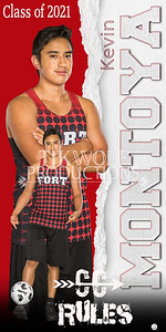3X6 Kevin Montoya Fort Cross Country Banner